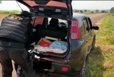 Polícia do Mato Grosso do Sul prende casal de Avaré portando 60 quilos de maconha