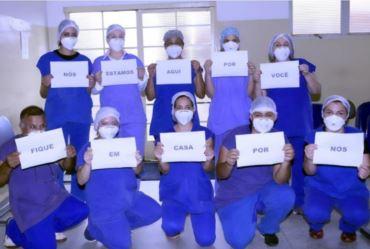 Leitos da ala Covid-19 da Santa Casa  está zerada de pacientes de Taquarituba