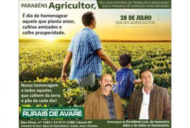 28 de Julho | Dia do Agricultor