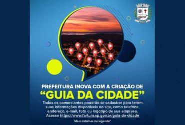"""Prefeitura inova com a criação de """"Guia da Cidade"""""""