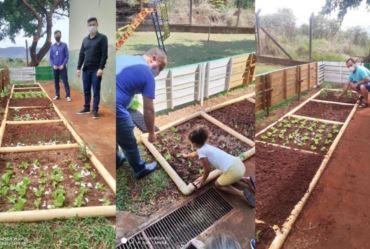 """Projeto """"Horta na Escola"""" é desenvolvido pelo CEI Madre Gaetana Sterni"""