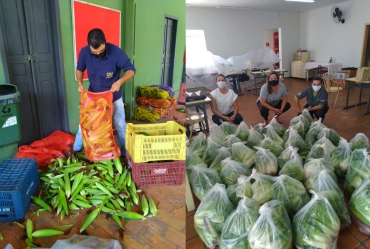 Assistência Social: Em Fartura, projetos auxiliam famílias em situação de vulnerabilidade durante pandemia