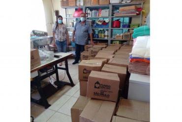 Fundo Social de Tejupá recebe doações de cesta básicas