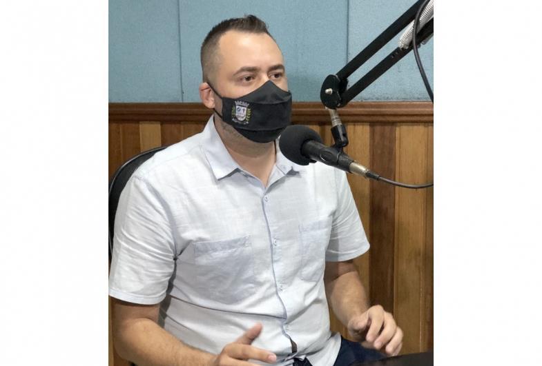 Prefeito de Fartura concede entrevista sobre os primeiros meses de Governo