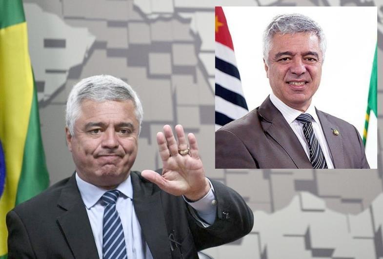 O senador do estado de São Paulo, Major Olimpio morre de covid