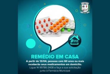 """Fartura implanta Programa """"Remédio em Casa"""""""
