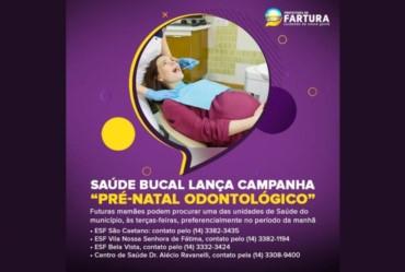 """Saúde Bucal lança Campanha """"Pré-natal Odontológico"""""""