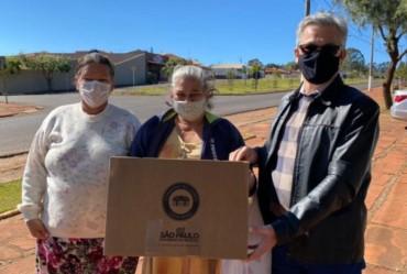 População de Sarutaiá agradece a prefeitura pelas distribuições das cestas verdes