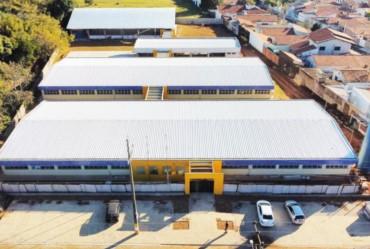 Construção de nova escola no Bairro Alto chega à última etapa em Avaré
