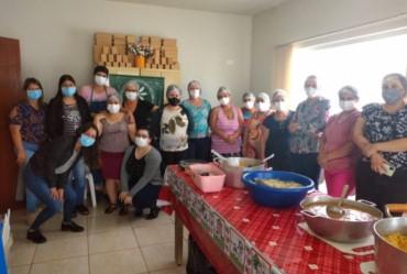 """Tejupaenses participam de curso de """"Uso de Amendoim na Gastronomia"""""""