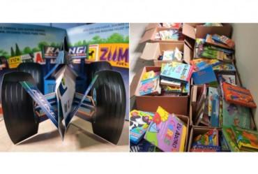 Itaporanga adquire livros de literatura para creches escolas municipais