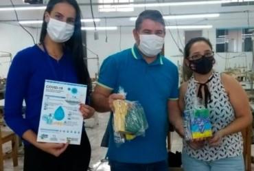 Prefeitura de Itaporanga distribui 500 kits de prevenção ao Covid-19