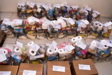 Ação Social: Famílias de alunos receberão cestas básicas na próxima semana