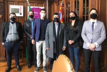Vereador Filipe se reúne com presidente Nacional do PDT