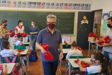 Coordenadoria da Educação de Sarutaiá organiza programação especial em comemoração ao Dia das Crianças