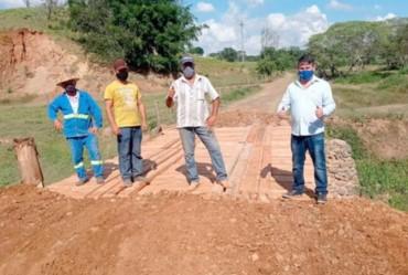 Prefeitura de Itaporanga constrói ponte no Bairro Rio Verde