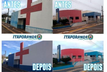 Prefeitura realiza benfeitorias em UBS e Farmácia Municipal