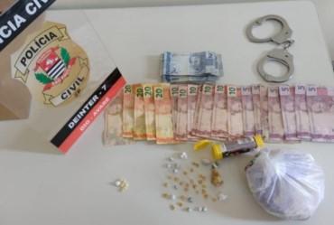 DIG prende dupla suspeita de vender crack na Vila Jardim em Avaré