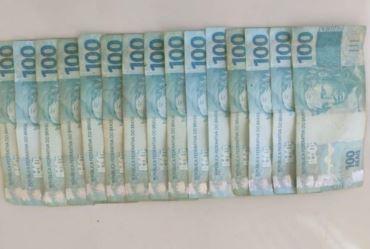 Dupla é presa após agredir e furtar R$ 1.800,00 de idoso