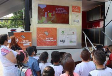 Escolas públicas de Sarutaiá irão receber exposição e oficinas de fotografia