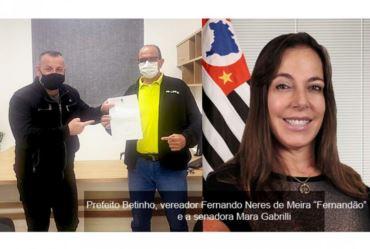 Vereador Fernandão conquista R$ 100 mil pra Coronel Macedo
