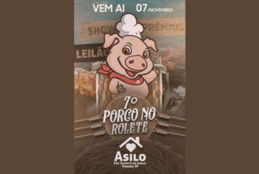 Asilo de Timburi vai realizar 7º Porco no Rolete em novembro