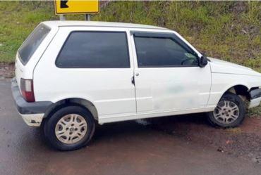 Cerco policial resulta na prisão de criminoso que tentava fugir após roubar carro em Taguaí